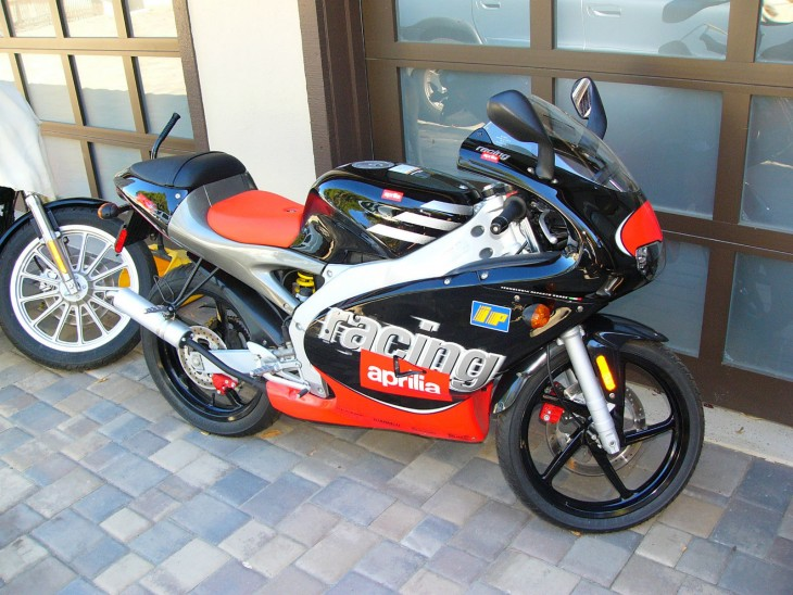 The Perfect Holiday Stocking-Stuffer: 1999 Aprilia RS50 for Sale