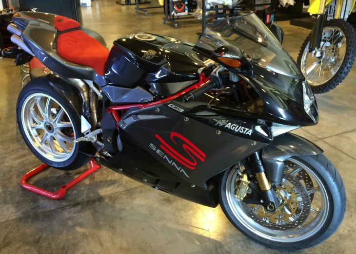 Charitable Donation: 2007 MV Agusta F4 Senna #168/300