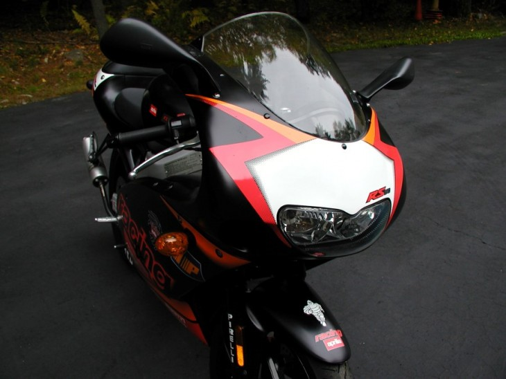 Under the Tree – 2001 Aprilia RS50