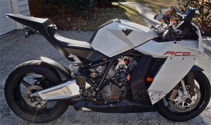20151227 2008 ktm rc8 limited edition right sun