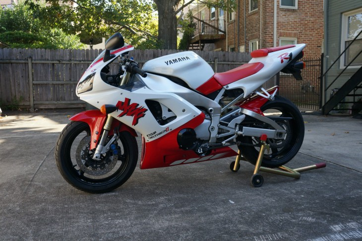 1st Beyond the Blade:  1998 Yamaha YZF-R1, unit #79