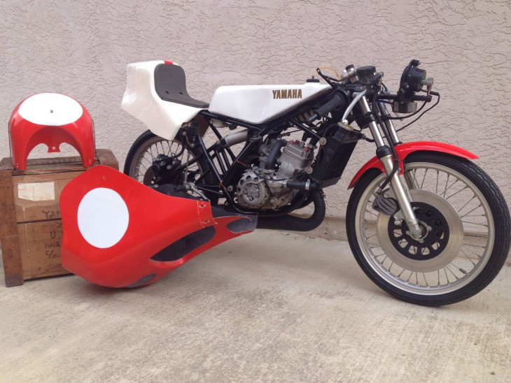 Fast Flyweight: 1980 Yamaha TZ125 G for Sale
