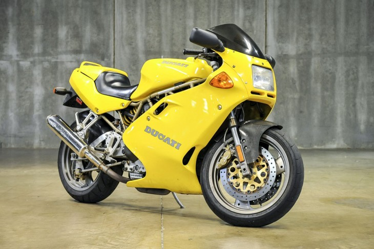 A Bit of Sunshine for Your Garage: Low Mileage 1997 Ducati 900SS for Sale
