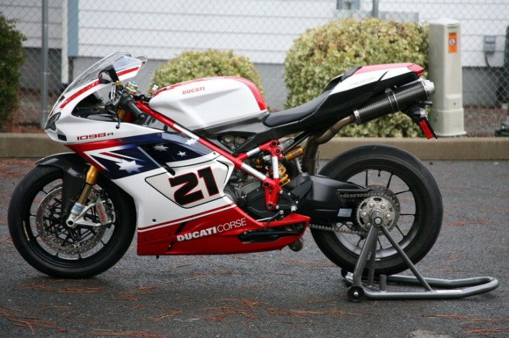 2009 Ducati 1098R Bayliss L Side