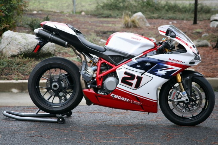 2009 Ducati 1098R Bayliss R Side