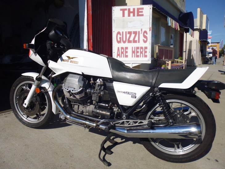 Cafe Traditionale – 1984 Moto Guzzi 850 Le mans Mk III