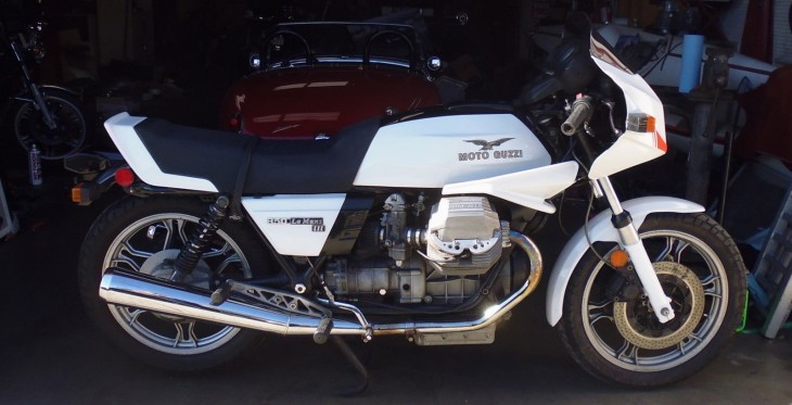 20150115 1984 moto guzzi 850 le mans mk 3 right