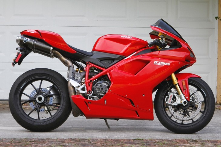 Addition by Subtraction – 2007 Ducati 1098