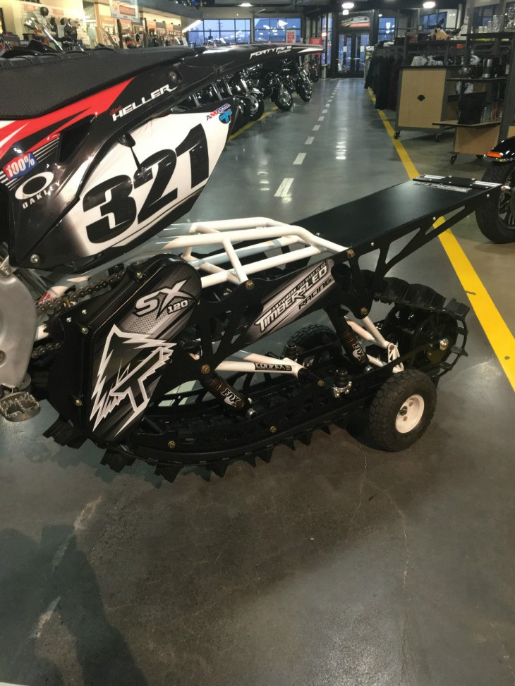 20160123 2013 honda crf450 timbersled sx120 left rear