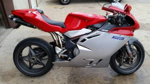 2000 MV Agusta F4 750 with Just 1,000 Miles