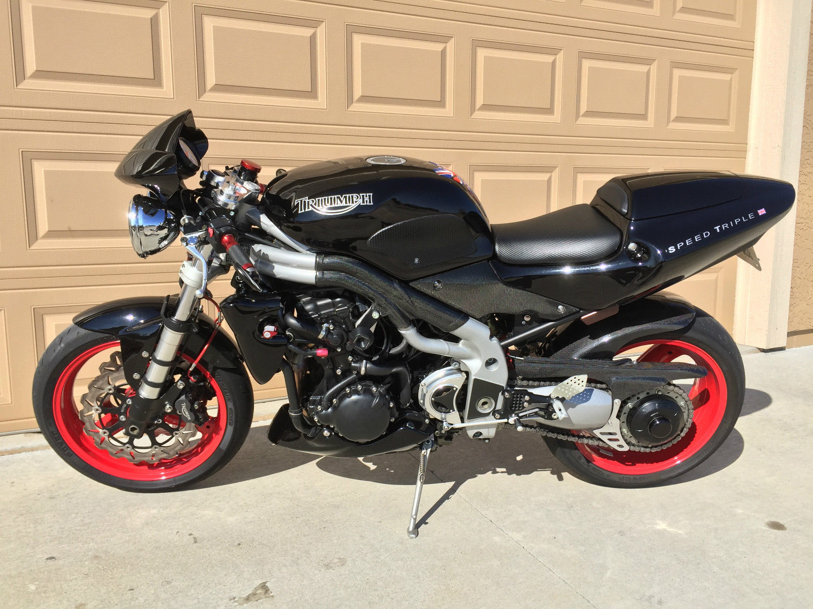 Dirty Mean And Naked 2003 Triumph Speed Triple Rare Sportbikes