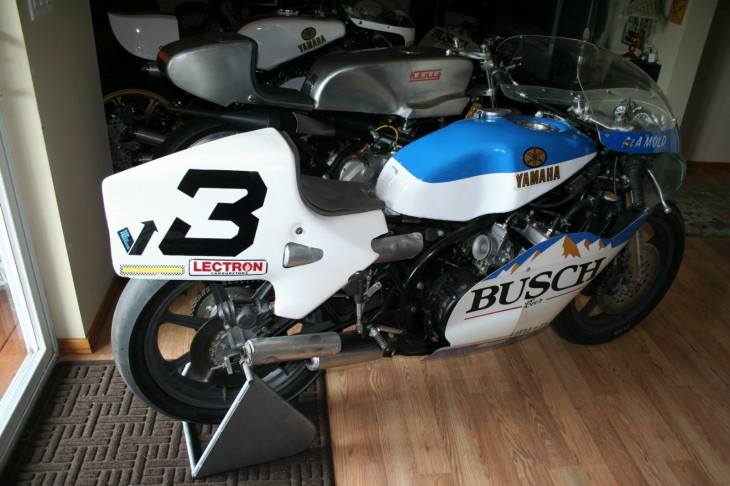 1977 Yamaha TZ750 R Side Rear