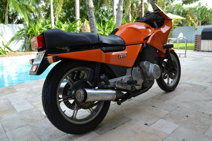 1984 Laverda RGS R Side Rear