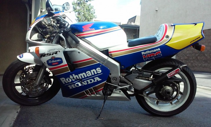 1994 Honda NSR250R Roth L Side