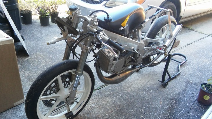 1998 Honda RS125 L Side Front
