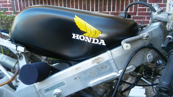 1998 Honda RS125 Tank Detail R