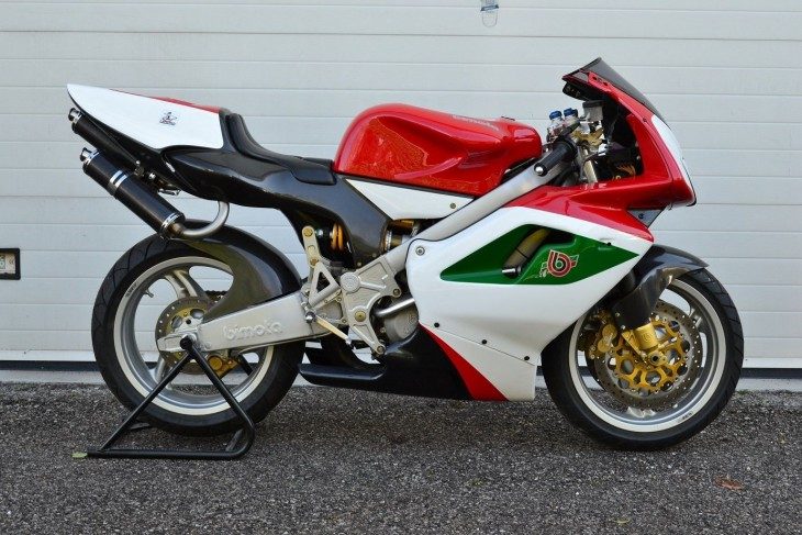 The VDue that worked: </br>1999 Bimota VDue Trofeo in Italy