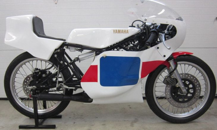 Jewel-Like Race Bike: 1980 Yamaha TZ125G for Sale