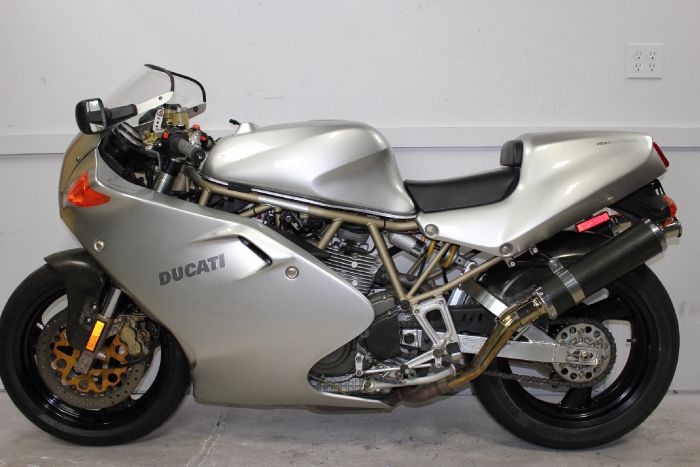 Silver Bullet: 1998 Ducati 900SS FE for Sale