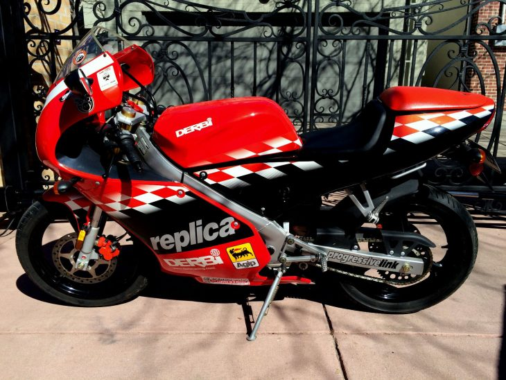 20160413 2003 derbi gpr50 malossi left