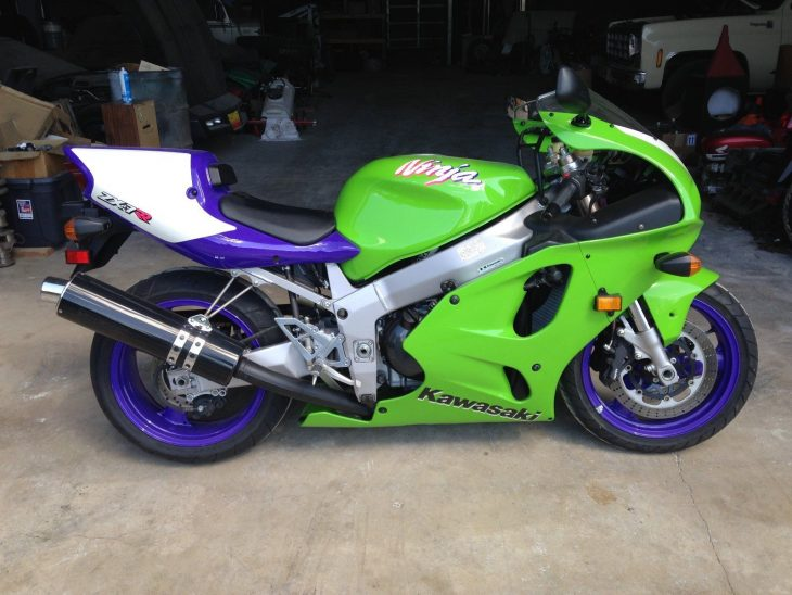 The Definitive 750 Kawasaki?  1996 ZX7RR N1