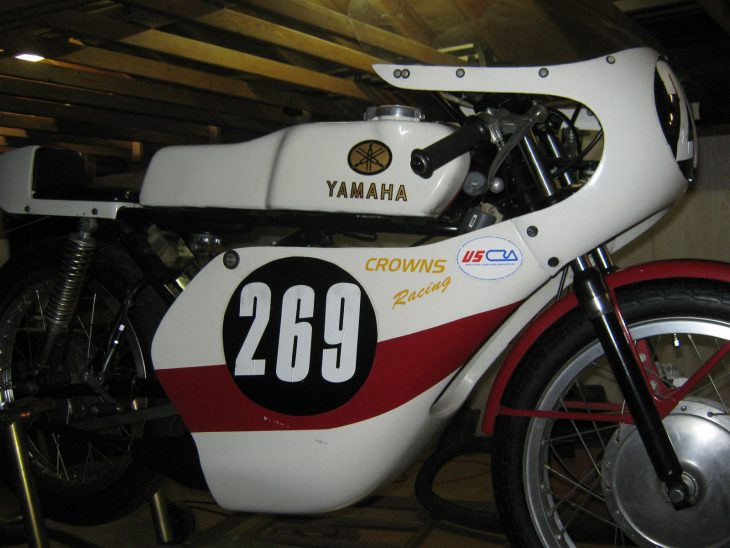 1974 Yamaha TA125 R Side Fairing