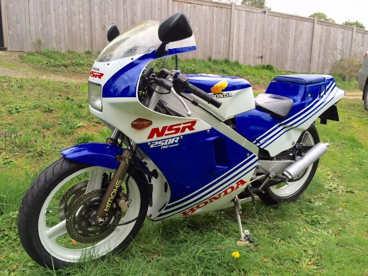 US Titled Two-Stroke: 1986 Honda NSR250R for Sale