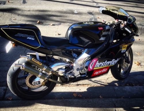 Smoke 'Em if Ya Got 'Em: CA-Titled 1995 Aprilia RS250 Chesterfield Replica for Sale