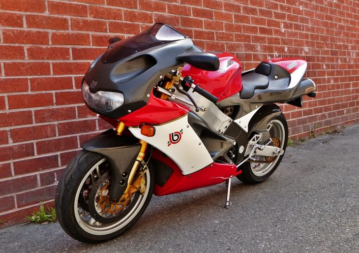 Sophisticated Frame: 2000 Bimota SB8R for Sale