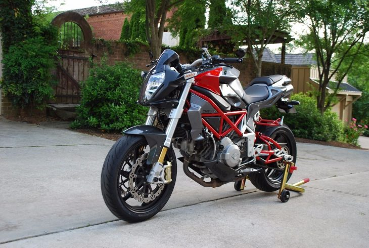Deliriously Naked: 2007 Bimota DB6 Delirio for Sale