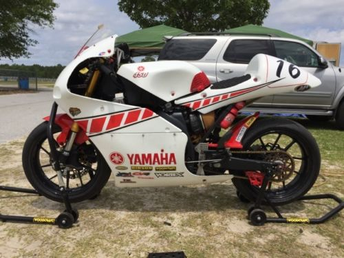 2008 Yamaha YZF450F L Side
