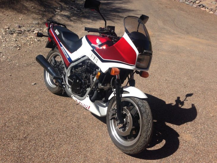 20160524 1985 honda vf500f right front