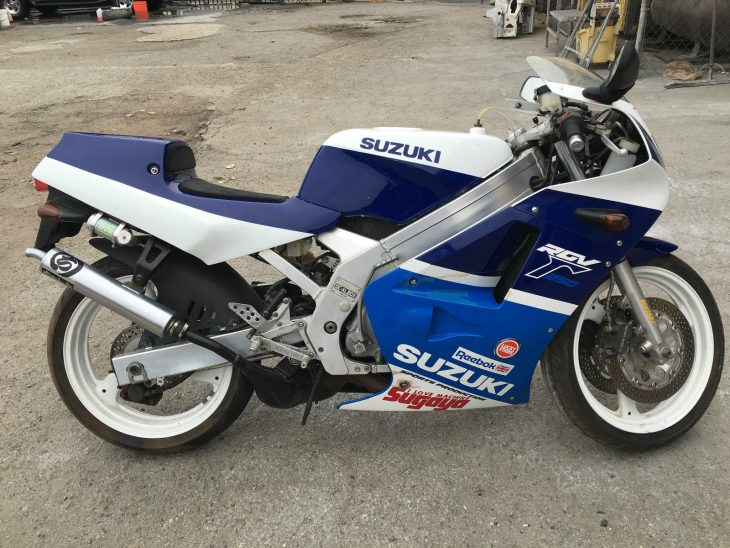 Table for One: 1988 Suzuki RGV250Γ SP for Sale
