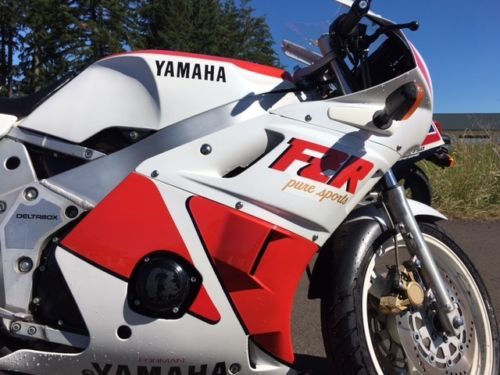 1988 Yamaha FZR400 R Side Detail
