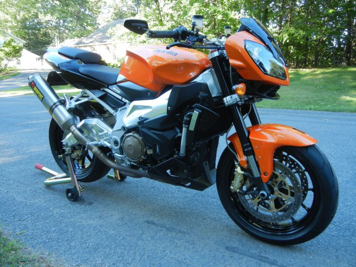 Under the Skin: 2009 Aprilia Tuono 1000R for Sale