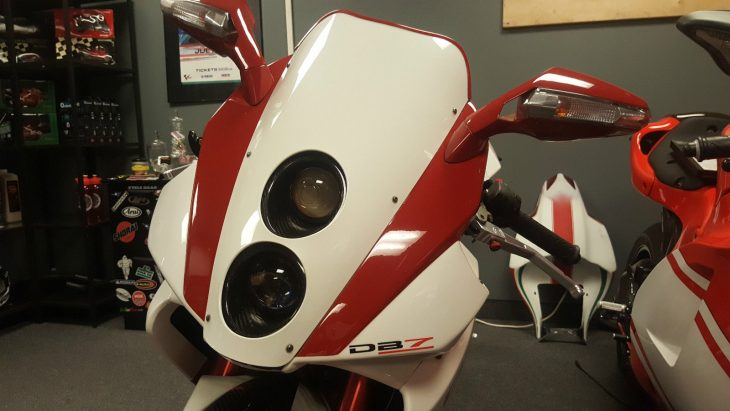 2009 Bimota DB7 Headlight