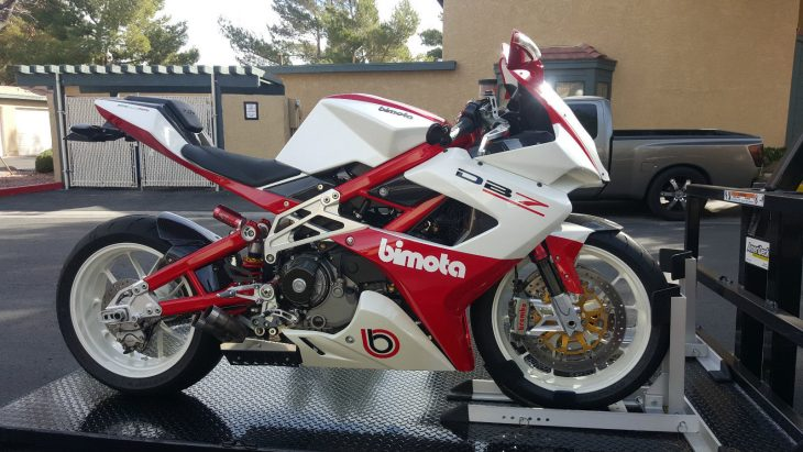 Edgy Beauty: 2009 Bimota DB7 for Sale