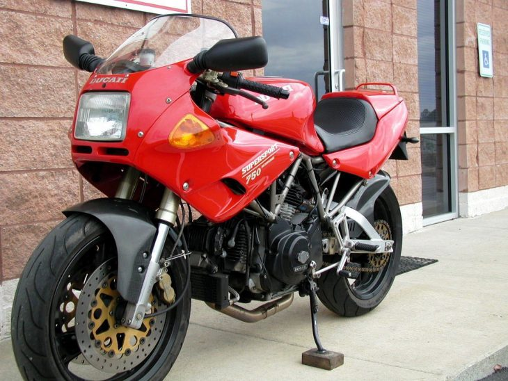 20160622 1993 ducati 750ss left front