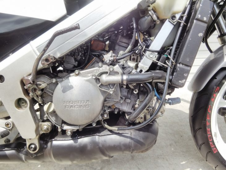 1989 Honda NSR250R MC18 R Side Engine