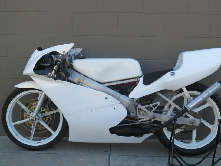 1993 Honda RS125 L Side3