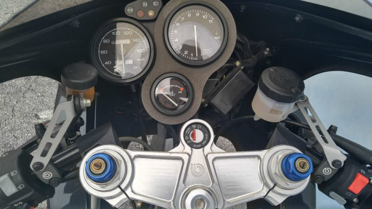 2000 Bimota DB4 Clocks