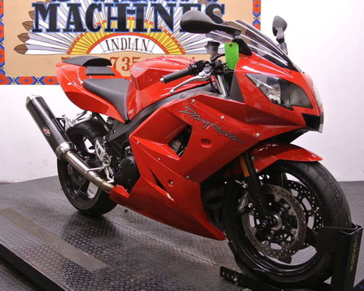 Getting Closer: Low-Mileage 2004 Triumph Daytona 600 for Sale