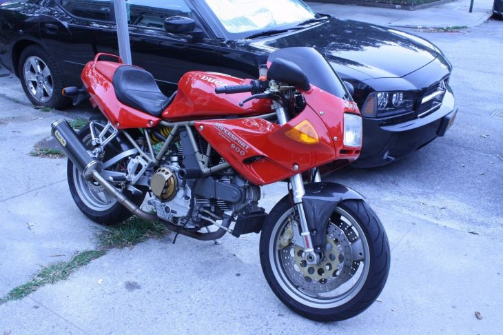 20160709 1997 ducati 900ss right front