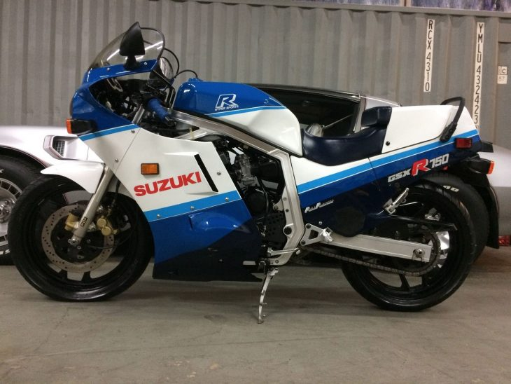 One Owner 1987 Suzuki GSX-R 750 in Miami