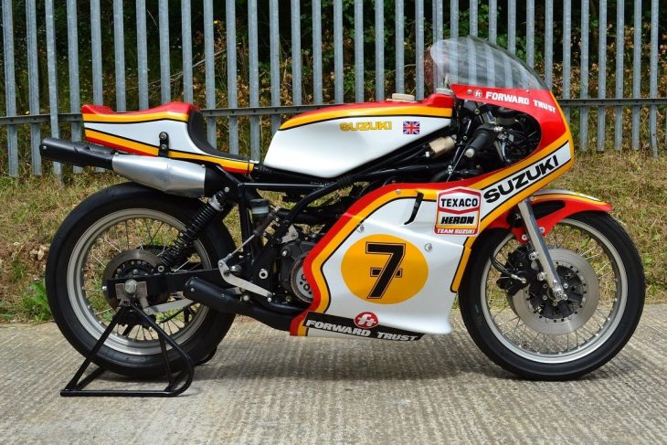 1977 Suzuki RG500 Race Bike R Side