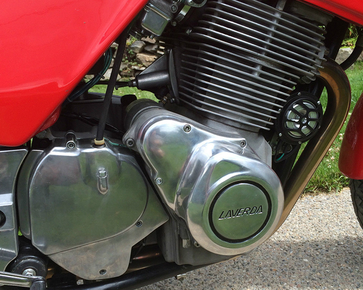 1983 Laverda RGS1000 Engine Detail