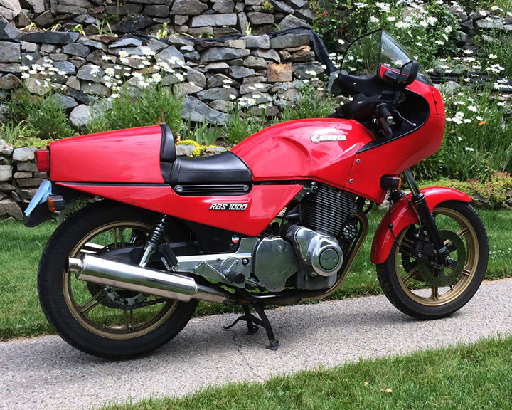 1983 Laverda RGS1000 R Side