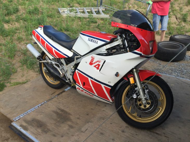 Unfairly Overshadowed? 1984 Yamaha RZ500 for Sale