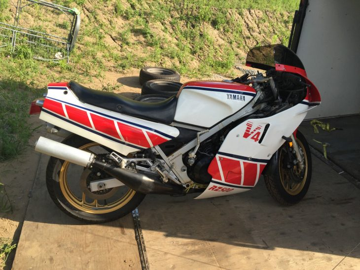 1984 Yamaha RZ500 R Side