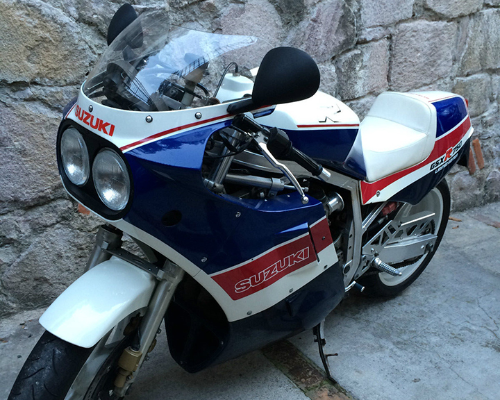 Rare Gixxer South of the Border: 1986 Suzuki GSX-R750 Limited Edition for Sale
